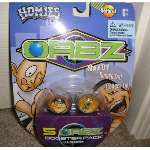 Homies ORBZ Series 1 5 Pc. Lot NEW in Pkg Gr8 GIFT!
