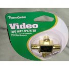 NIP HomeCenter Video Two Way Splitter Gold Series!
