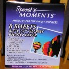 Special Moments Photo Paper - 8.5 x 11 - NEW
