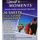 Special Moments 4 x 6 Photo Paper Glossy Scrapbooking!