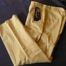 Womens Chaps Pants Slacks Tan Size 4 New Jean Like!