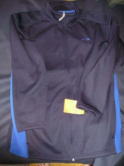 New Boys Girls Champion Brand Nylon ZipFront Jacket XL!