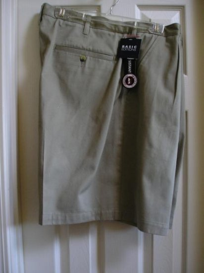 Mens Shorts Size 44 Waist Wrinkle Resistant Gr8 Color NEW Sale!