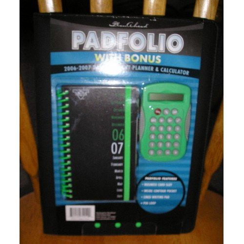 SALE Plan Ahead Padfolio Planner Bonus Calendar + Calculator NEW!