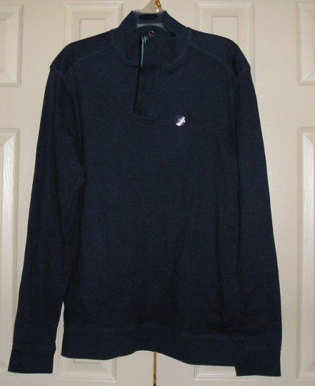 Old Navy Vintage Style SweatShirt Fleece Medium Henley Front NEW