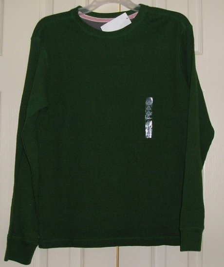 Old Navy Shirt T-Shirt Long Sleeve Green Small Clearance