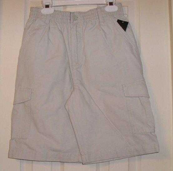 Sonoma Boys Tan Cargo Shorts Medium NEW Golf Dress