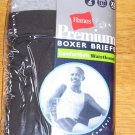 Hanes Premium Boxer Briefs Boys XL 2 Pair Pkg NEW