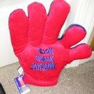 KU Jayhawks Licensed Spirit Hand Collegiate Glove Rock Chalk JayHawks NEW