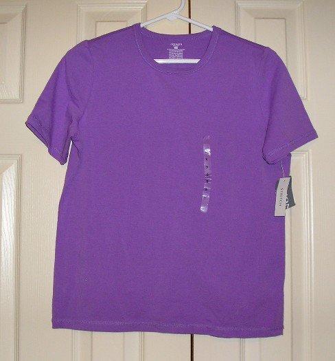 Jones Sport Purple Stretch T-Shirt T Shirt Top - $29 Small