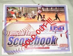 ASA Softball Scorebook Official Team Scorebook NEW