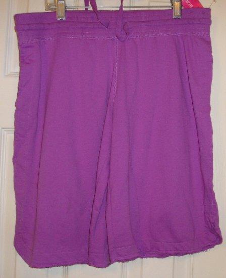New Xhilaration Sleepwear Sweat Style Shorts Small Teens Girls Juniors
