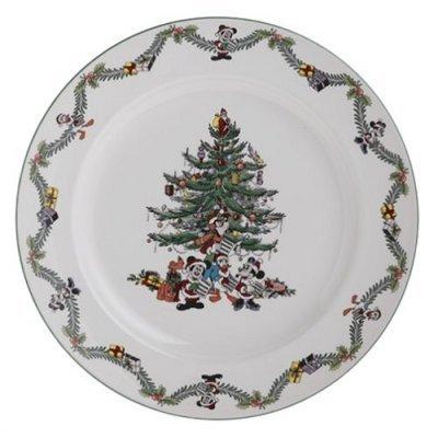 Spode Disney Christmas Tree Celebration Service Plate NEW
