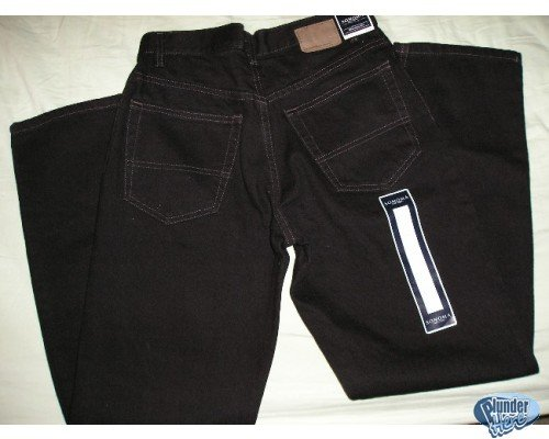 Sonoma Black Mens Jeans Teens Boys Too 30 x 30 NEW