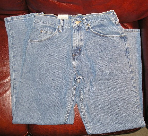 Mens Teens Boys Wrangler Jeans 30 x 30 NEW Relaxed Fit NEW