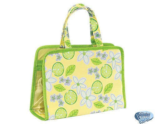 New Avon Naturals Travel Organizer Floral Theme FREE SHIPPING