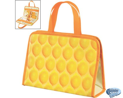 New Avon Naturals Travel Bag Lemon Theme FREE SHIPPING