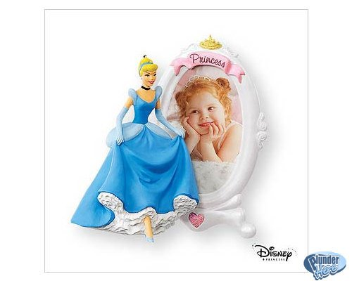 NEW 2007 Hallmark Cinderella Collectible Ornament Keepsake Disney