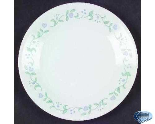 3 Corelle Country Cottage Bread Butter Dessert Plates Exc