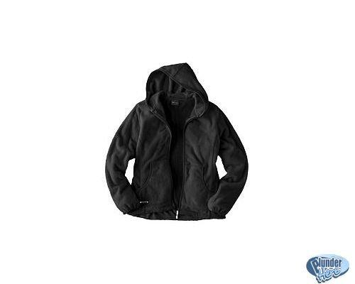 ZeroXposur Fleece Womens Jacket Hoodie with Hood Black Medium NEW