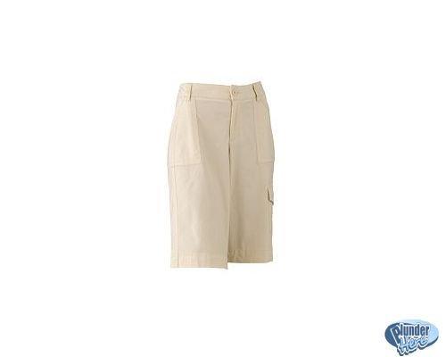 Womens Walking Shorts Dockers Angora Longer Style Sz 4