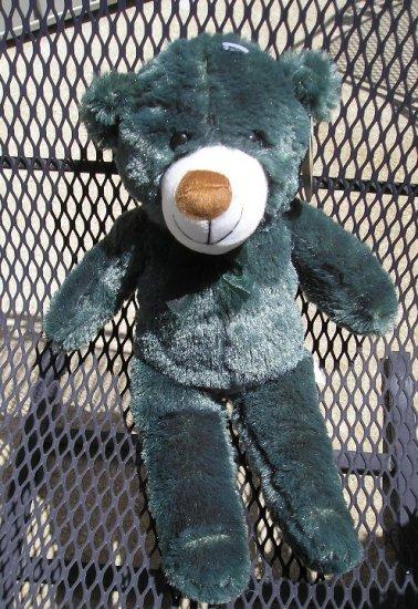 Cuddly Cousins 19 Inch Green Teddy Bear FREE Shipping NEW