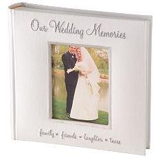 Wedding Memories Photo Album Wedding Photo Album Holds 200 Pictures NEW