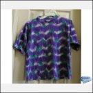 WOMENS Tie-Dye Vintage SS Shirt Purple T-Shirt Teens SMALL CLEARANCE