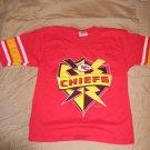 Team Rated Medium KC Kansas City Chiefs Jersey Vintage Football Jersey 1997