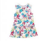 Chaps Infant Drop Waist Floral Dress 2 Pc. White Sz. 18 Months with TAGS $30