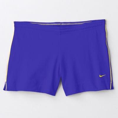 Womens NIKE Swoosh Running Sports Shorts Purple Sz. Small NEW