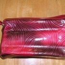 New Avon Burgundy Make Up Bag Case Large Size FREE SHIPPING