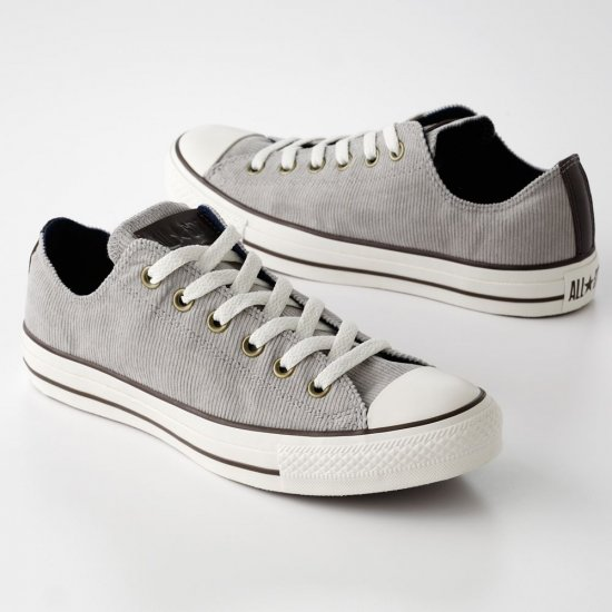 Converse Chuck Taylor Corduroy Shoes Men's 12 GRAY NEW