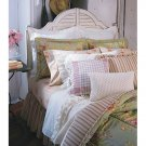 NEW Set of 2 Chaps Essex Garden Plaid 18-inch Square Pillows NEW
