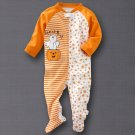 Carters Halloween Unisex Infant Sleep Play One Piece Outfit 6-9 Months NEW