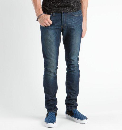 Mens Bullhead Drakes Skinniest Hardly Worn Dark Slate Blue Jeans 38 x 32 NEW PacSun