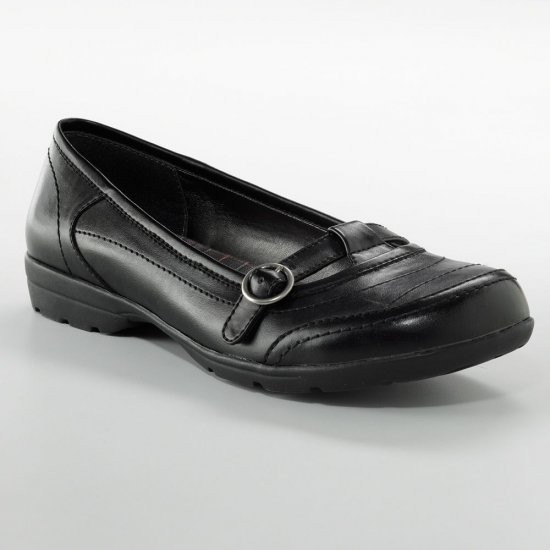 NEW Black Women's Flats Shoes Size 8 Womens Casual Flat Shoes Black by MUDD
