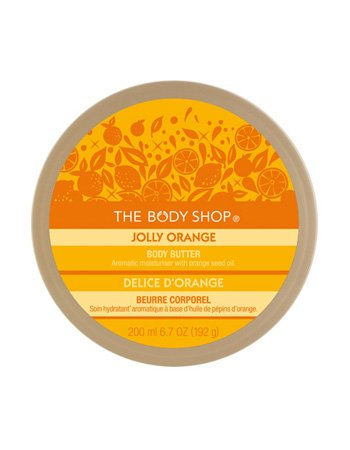 The Body Shop Jolly Orange Body Butter 6.7 oz NEW SEALED $20.00