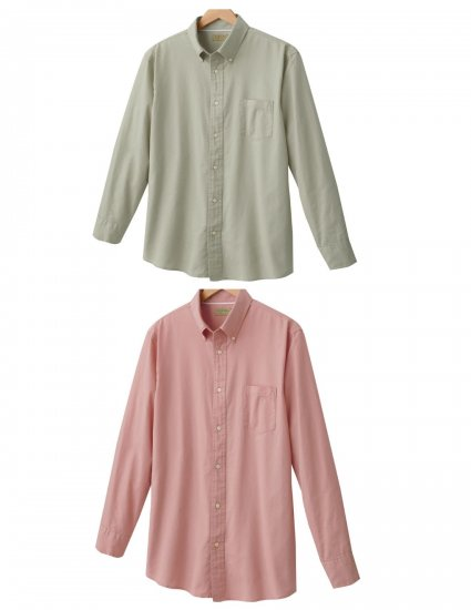 Mens Lot of 2 Sonoma Oxford Button-Front Shirts Small NEW