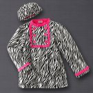 Girls Fashion Winter Jacket Coat + Hat Al and Ray Coat $75 Sz 4 NEW Adorable