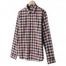 Mens Plaid Casual Button-Front Shirt or Top Dockers XXL or 2XL RED NEW