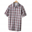 Mens 2 in 1 Casual Button-Front Shirt + Tee  Small or S Red Sonoma NEW