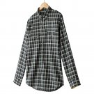 Mens Plaid Casual Button-Front Shirt or Top Apt. 9 Extra Large or XL Blue NEW