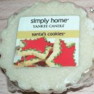 Yankee Candle Simply Home Santas Cookies Tarts Lot of 2 Retired NEW