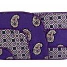 Vera Bradley Jazzy Clutch Handbag Purse Simply Violet $45 NEW