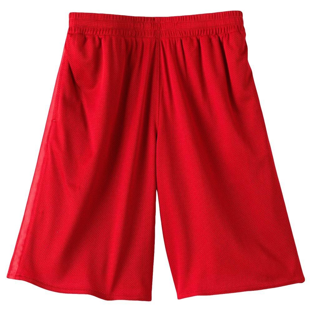 Tek Gear Basic Shorts Boys Sz. Size Extra Large XL RED NEW