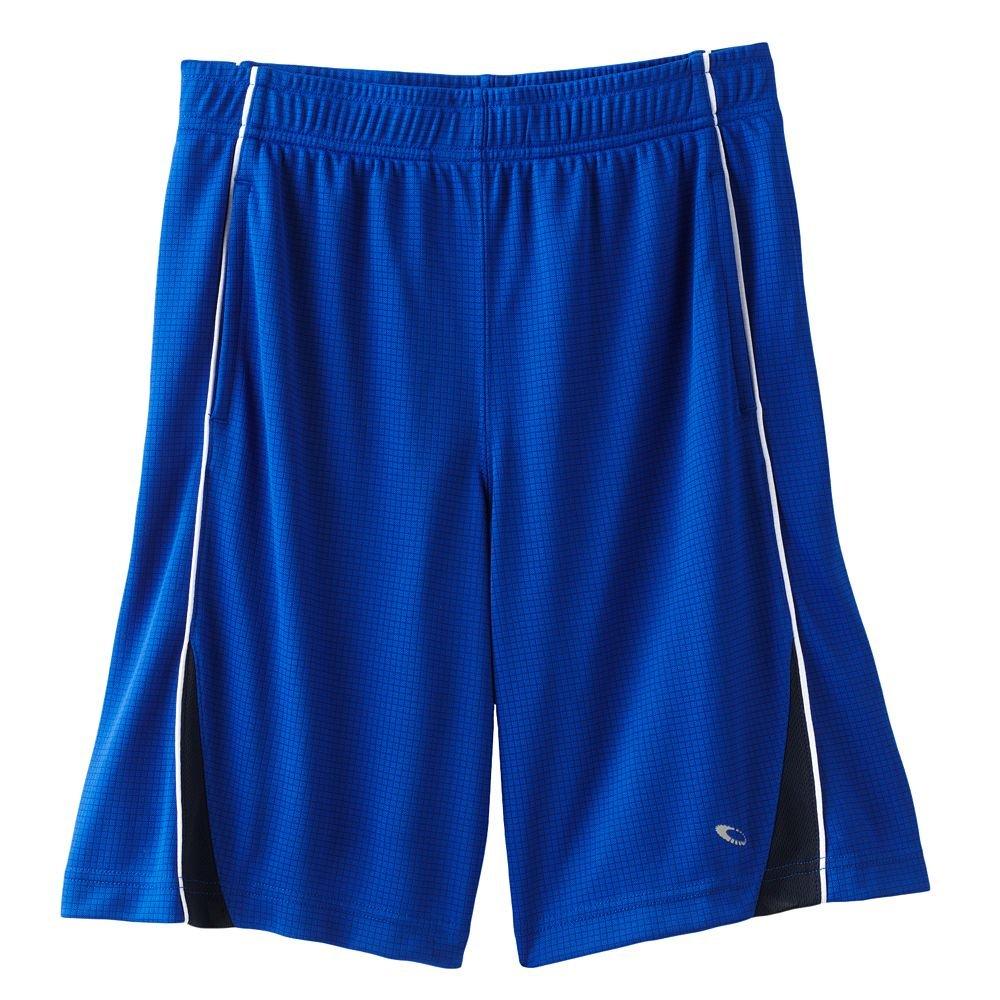 Boys Tek Gear Waffle Weave Performance Basketball Shorts Extra Large XL Royal Blue NEW