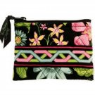 Vera Bradley Coin Purse Pouch Accessory Change Case Botanica $14 NEW