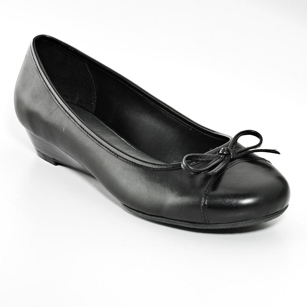 Croft & Barrow Women's Flats Slip On Shoes Black Size 10 NEW