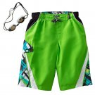 NEW Boys Swimsuit Swim Suit ZeroXposur TailSlide Swim Trunks Sz XL Extra Large $25